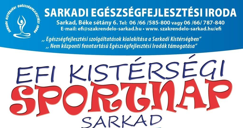 EFI Kistérségi Sportnap   2019. Október 18.