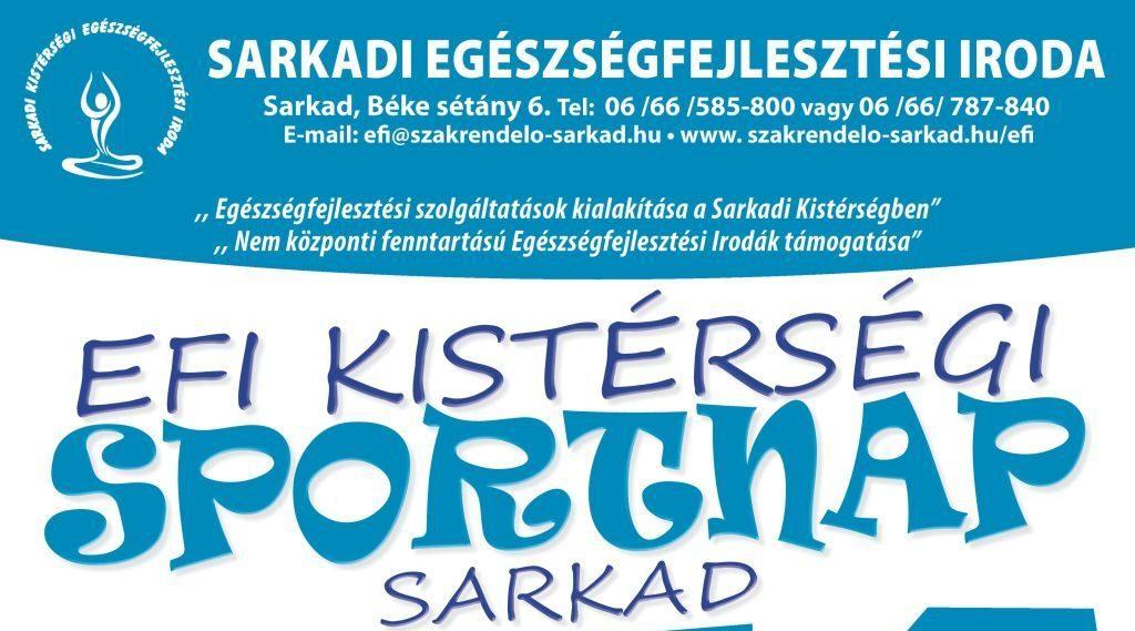 EFI Kistérségi Sportnap   2019. november 22.