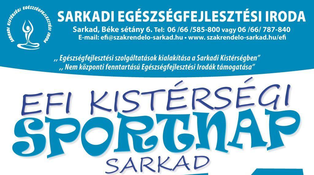 EFI Kistérségi Sportnap | 2019. november 22.